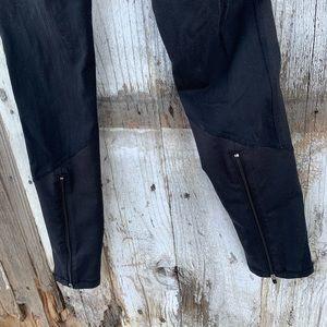 ALO Yoga Pants & Jumpsuits - Black Alo Zipper Ankle Leggings